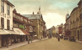 Fore Street Hertford, 1920s