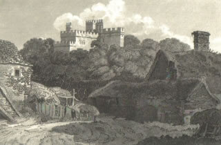Hertford Castle, 1805