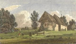 St Leonard's Church Bengeo, 1805