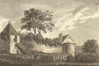 Hertford Castle, 1776